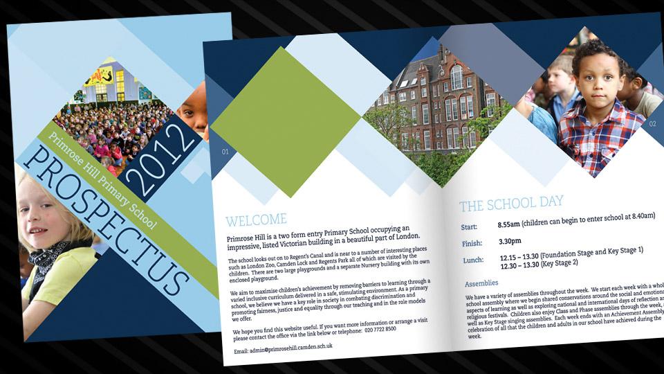 school prospectus : Alan Campbell : Freelance Graphic ...