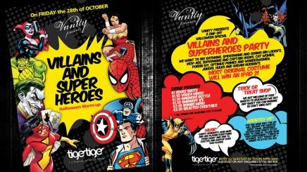 Flyer design for Aberdeen nightclub