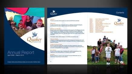 Annual Report design Dundee, Scotland UK