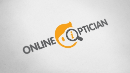Logo and brand design for online optician