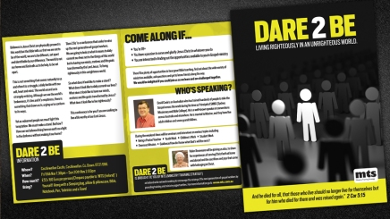 Leaflet design Dundee, Scotland UK