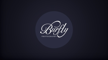 Logo and brand design for Dundee based photographers Burfly