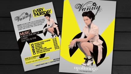 Flyer design for Edinburgh clubnight