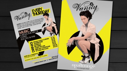 Flyer design for Edinburgh clubnight