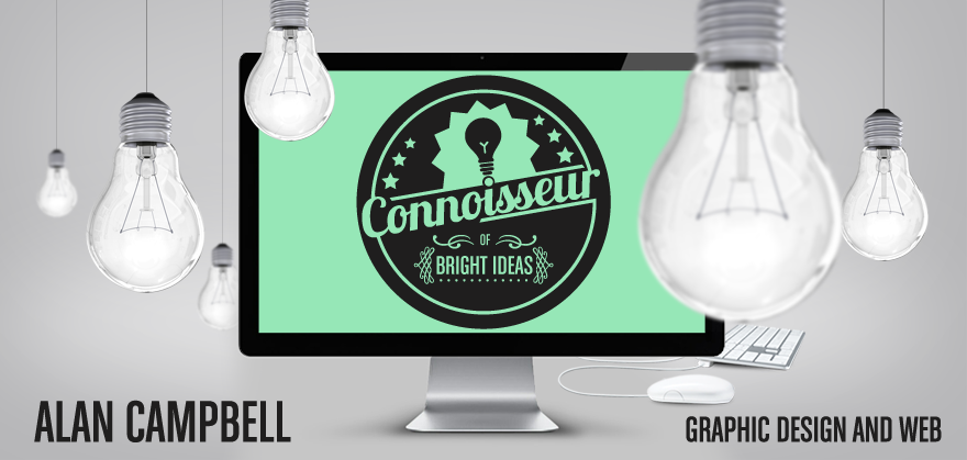 Alan Campbell : Freelance Graphic Design : Web Design : Logo Design : Dundee, Scotland, UK