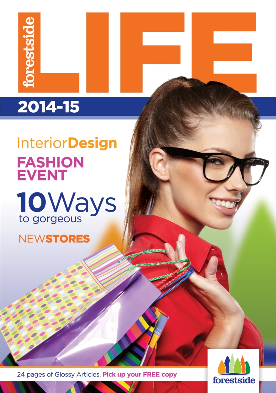 Shopping Centre Lifestyle Magazine Layout